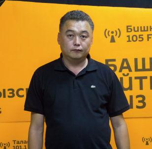 Бишкекасфальтсервис муниципалдык ишканасынын башчысы Айдар Апсеметов