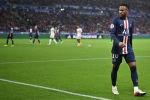 Нападающий клуба Пари Сен-Жермен Неймар на матче с Лион. 22 сентября 2019 года
