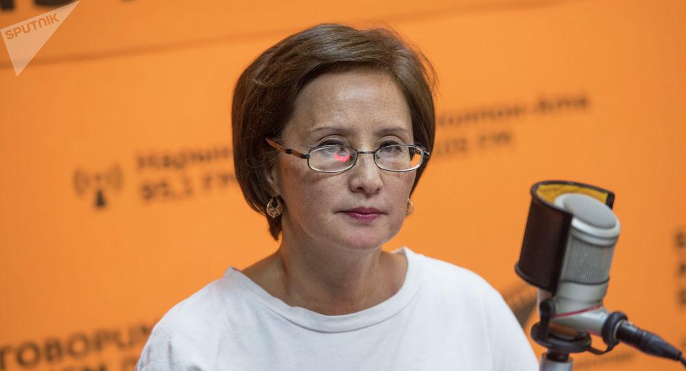 Республикалык кан борборунун кан даярдоо бөлүмүнүн башчысы Айнура Усенбаева