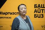 Художественный руководитель Бишкекского городского драматического театра Айгуль Умуралиева