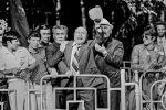 Известные кыргызские актеры Медель Маниязов, Советбек Жумадылов и Орозбек Кутманалиев, Фрунзе. 1976 год