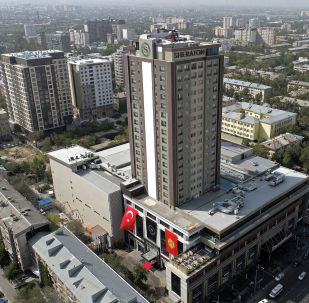 Открытие пятизвездочного отеля мирового бренда Sheraton над ТРЦ Bishkek Park в Бишкеке
