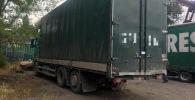 В Кыргызстан незаконно ввезли грузовое авто марки Volvo по поддельным документам
