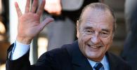 Экс-президент Франции Жак Ширак. Архивное фото