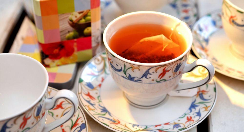 Чашка чая. Архивное фото