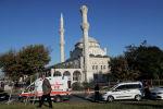 26-сентябрда Түркиянын Стамбул шаарында катталган зилзаладан Авжылар районундагы Хожа Ахмет мечитинин бир мунарасы урап калган