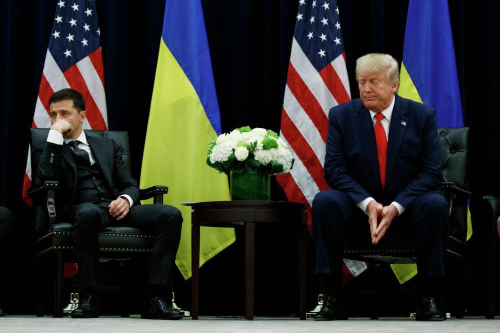 БУУнун Башкы ассамблеясынын 74-жыйынынын алкагында АКШнын президенти Дональд Трамп менен Украинанын президенти Владимир Зеленский жолукту