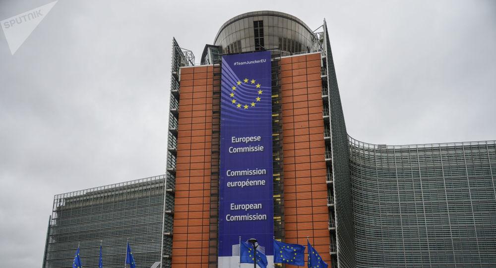Здание Европейской Комиссии в Брюсселе.