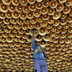 Калькуттада Дурга кудайына сыйынуу иш-чарасына даярдыктар жүрүүдө