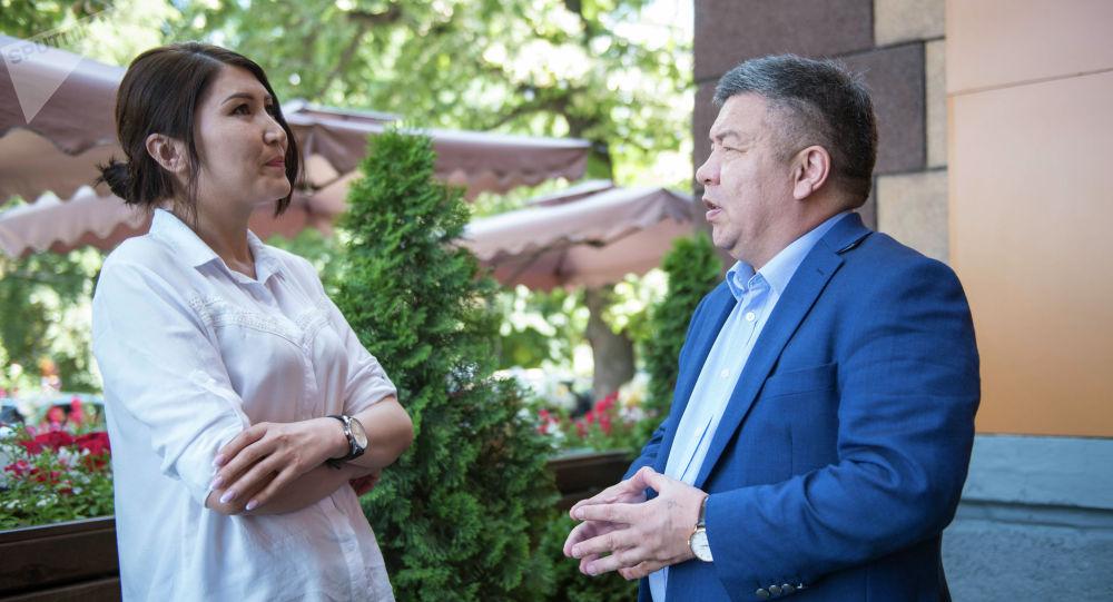 Буюртма макала, кооптуу кесип. Депутат Шыкмаматов журналист Бакашевадан маек алды