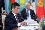 Президент КР Сооронбай Жээнбеков принимает участие в заседании Высшего Евразийского экономического совета (ВЕЭС) в Ереване, Армения