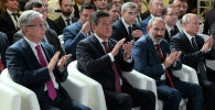 Главы государств-членов Евразийского экономического союза, а также Молдовы и Ирана в рамках заседания Высшего Евразийского экономического совета приняли участие в работе заключительной сессии форума Транзитный потенциал Евразийского континента в городе Ереван (Армения). 1 октября 2019 года