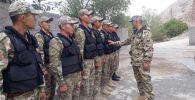 Отдельная рота Внутренних войск МВД Кыргызстана переведена ближе к границе в Баткенскую область