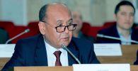 Ичүүчү суу менен камсыз кылууну жана агындылоону өнүктүрүү департаментинин директору Аскарбек Токтошев