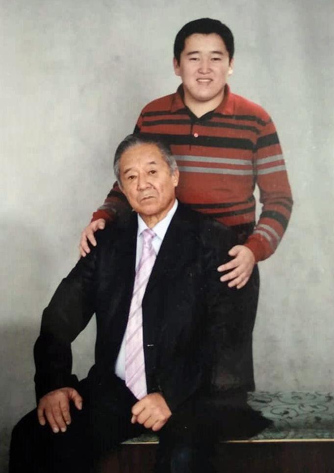 Народный артист Кыргызской Республики Улукмырза Полотов