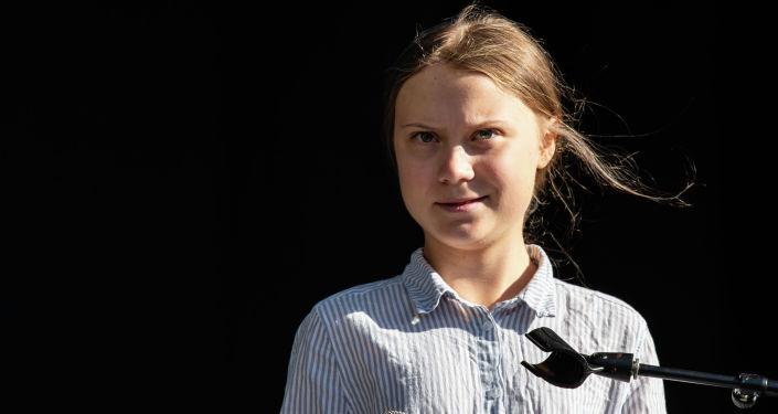 Шведская климатическая активистка Грета Тунберг. Архивное фото