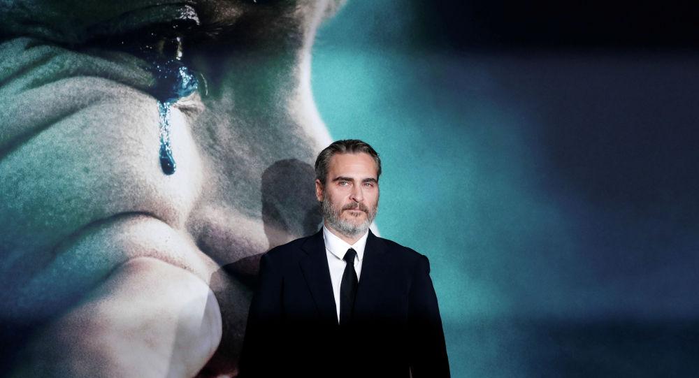 Актер Хоакин Феникс на премьере фильма Джокер в Лос-Анджелесе. Архивное фото