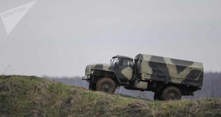 Военный грузовик. Архивное фото