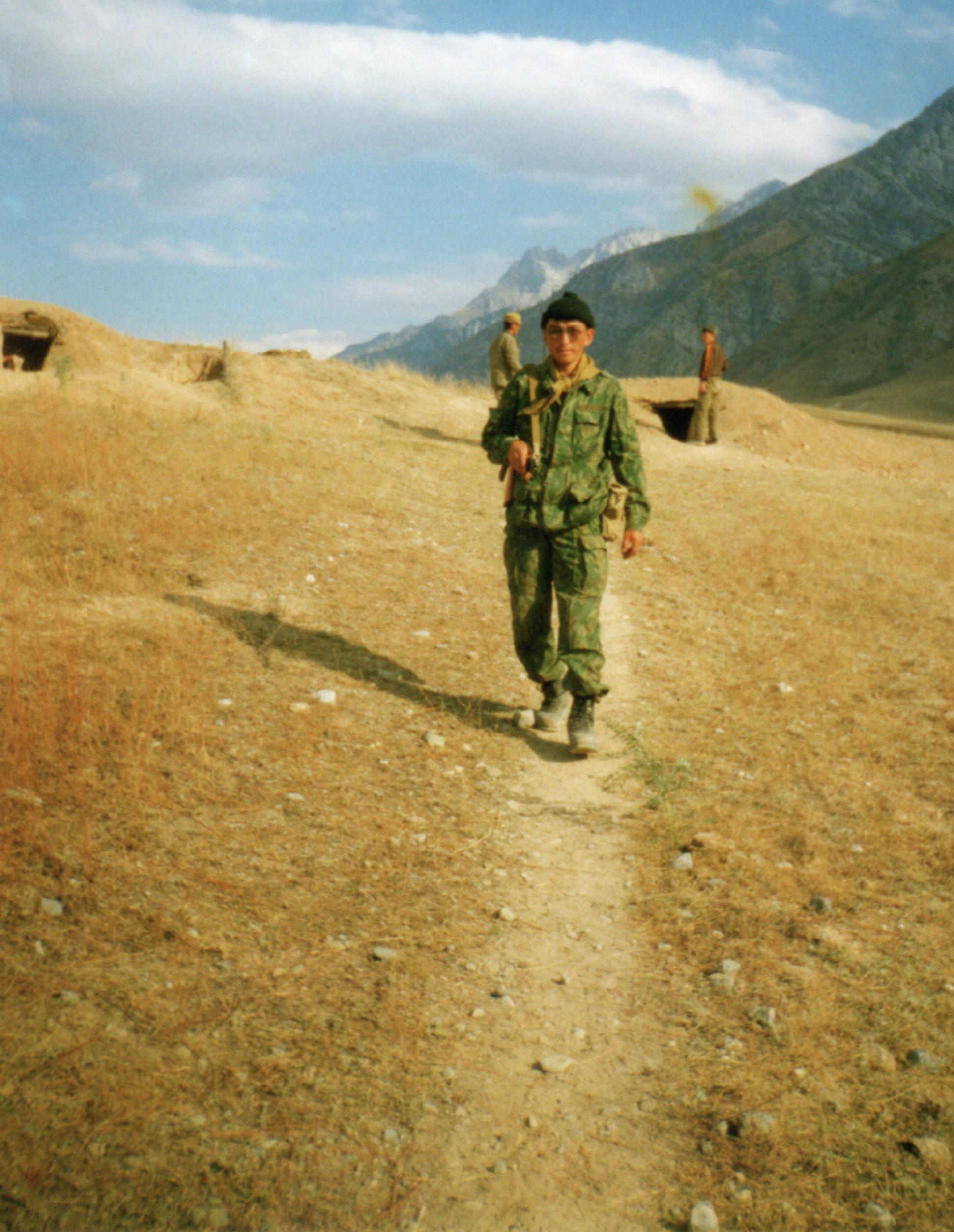 Участник баткенских событий, полковник Октябрь Рыскулбеков