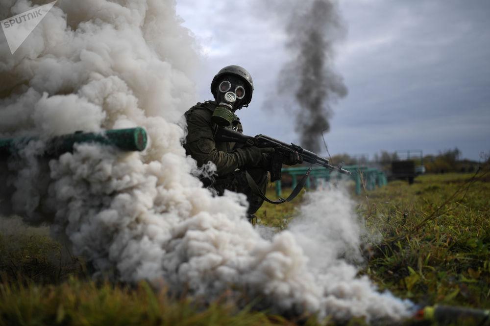 Испытания на право ношения крапового берета в Новосибирской области (Россия)