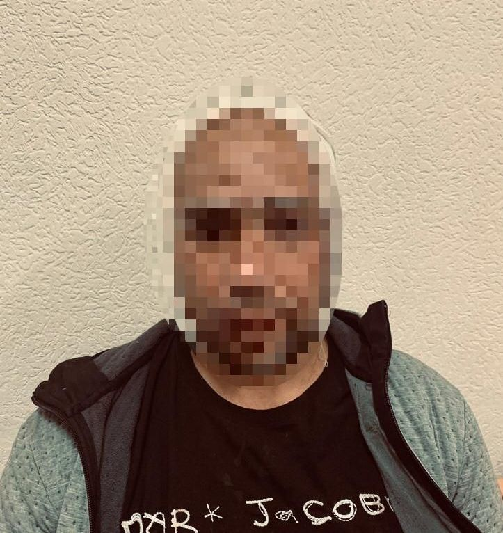 Подозреваемый в разбойном нападении с применением огнестрельного оружия