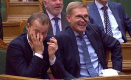Трогательная история дружбы верблюда и слона вызвала истерический смех у парламентариев во время выступления премьер-министра Дании Метте Фредериксен.