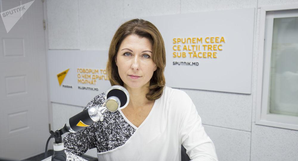Начальник управления информации и общественных связей, пресс-секретарь МВД Беларуси Ольга Чемоданова