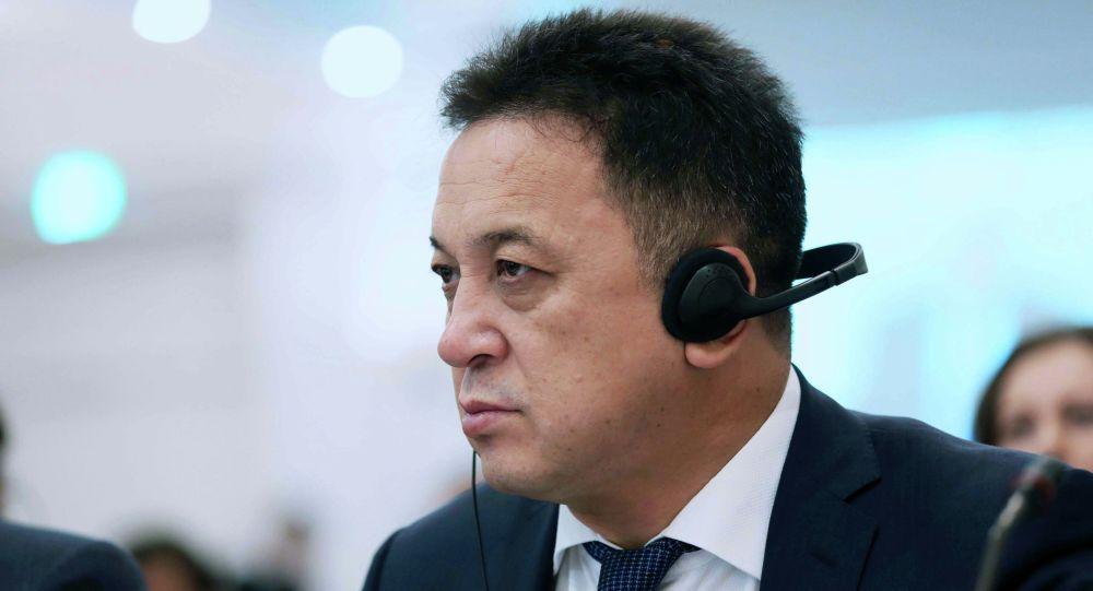 Жогорку Кеңештин депутаты Аалы Карашев. Архив