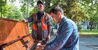 Мы узнали, как живет один из самых талантливых сотрудников городских служб Бишкека — работник муниципального предприятия Тазалык Адилет Туратбек уулу.