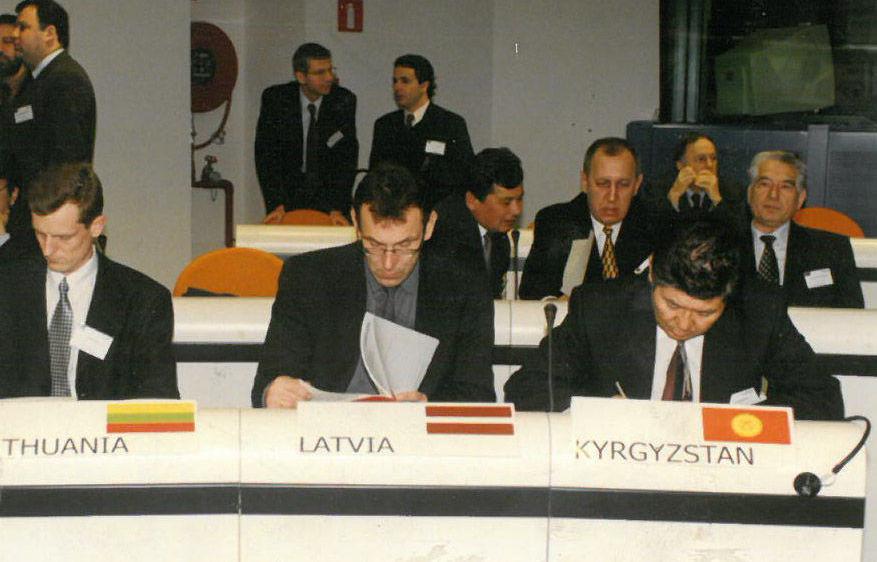 Чрезвычайный и Полномочный Посол КР, дипломат Жумакадыр Атабеков