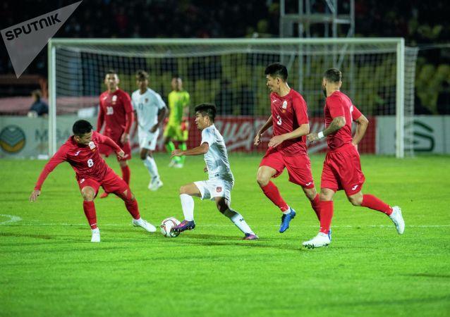 Матч закончился со счетом 7:0. Это историческая победа для сборной Кыргызстана