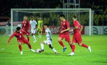 Кыргызстан — Мьянма футбол беттеши. Архив