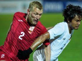 Кыргызстандын футболчулары Мьянманы баш көтөртпөй жеңгенде... Мелдештин ирмемдери