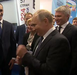 Первым видом спорта, которым занимался Владимир Путин, был бокс. Президент вспомнил, как получил травму.