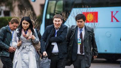 Журналисты международного информационного агенства Sputnik Кыргызстан. Архивное фото