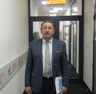 Улуттук статистика комитетинин төрагасынын орун басары Кошой Исалиев