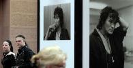 Портреты солиста группы Кино Виктора Цоя. Архивное фото