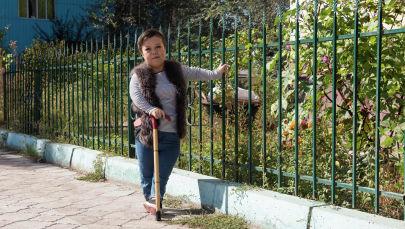 Айдана Ниязбекованын үч жашынан баштап бою өспөй токтоп калган