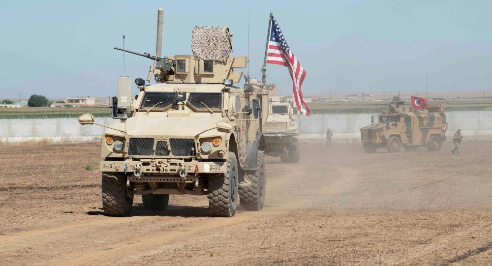 США и турецкие вооруженные силы в Сирии. Архивное фото