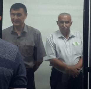 Заседание по делу о возможном получении взятки в 520 тысяч долларов экс-заместителем министра транспорта Азимканом Жусубалиевым.
