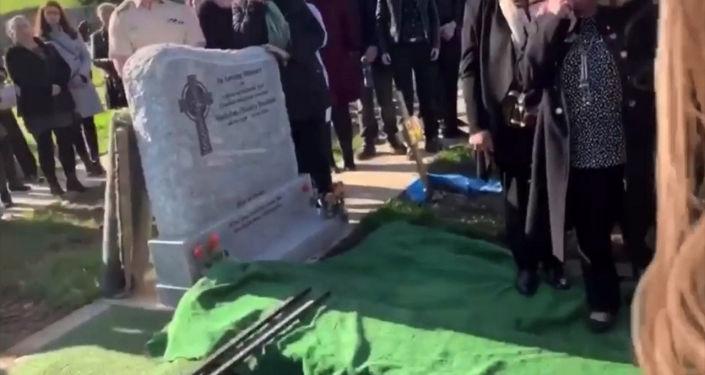 Ветеран вооруженных сил Шей Брэдли скончался после продолжительной болезни. Его похороны сильно отличались от традиционных погребений.