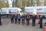 Россия Кыргызстанга бир дарылоо-диагностикалык мобилдүү клиниканы белекке берди