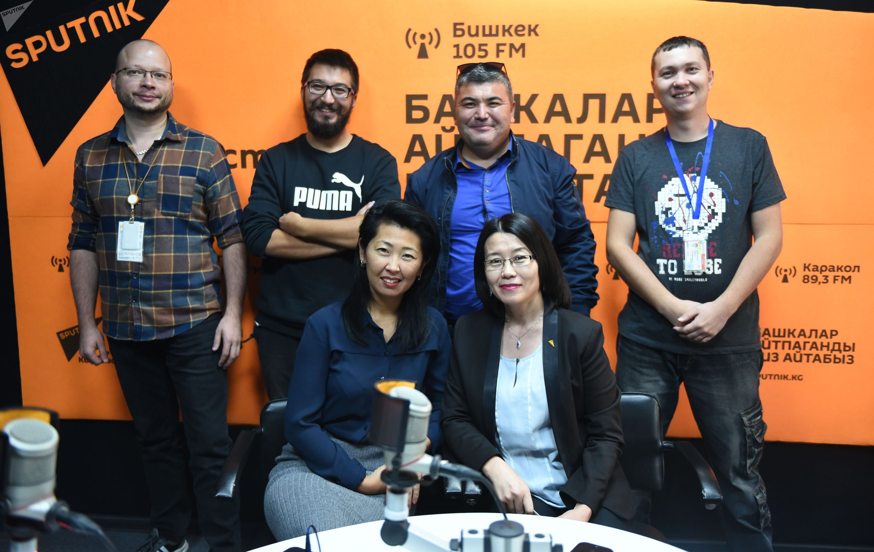 Авторы проекта Сынган кылыч международного информационного агенства Sputnik Кыргызстан