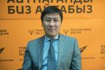 Борбордук Азия регионалдык институтунун төрагасы, тарых илимдеринин доктору Алмазбек Бейшеналиев