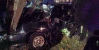Түндө Бишкекте болгон жол кырсыгынан бир киши каза тапкан