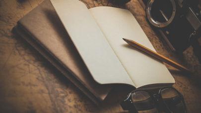 Блокнот жана калем. Архив