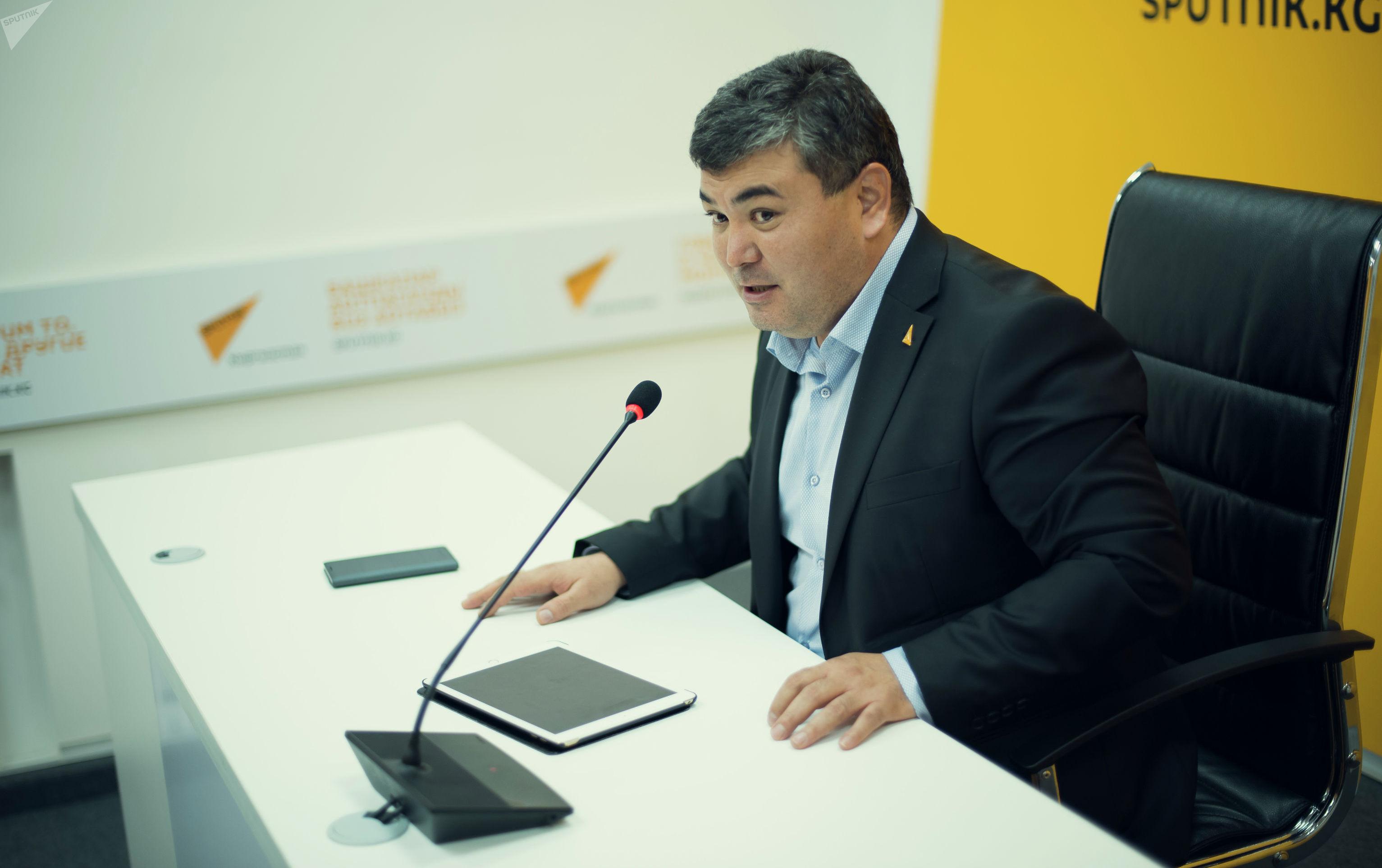 Креативный продюсер Sputnik Кыргызстан Эрнис Алымбаев