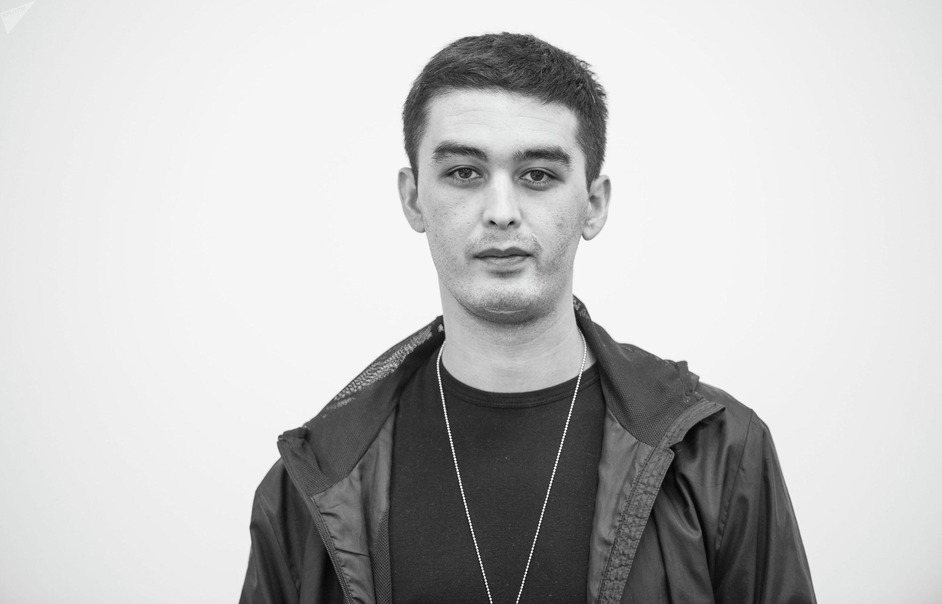 Журналист Sputnik Кыргызстан Алимджан Валиев