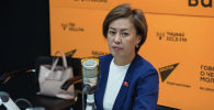 Кыргызстан фракциясынын депутаты Айнура Аскарова. Архив