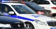 Автомобиль дорожно-патрульной службы. Архивное фото